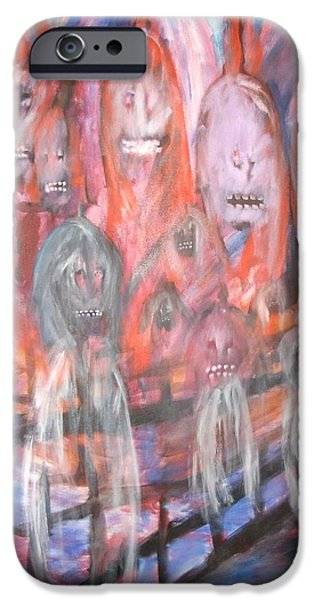 Faries iPhone Cases - Ghost Walk iPhone Case by Randall Ciotti
