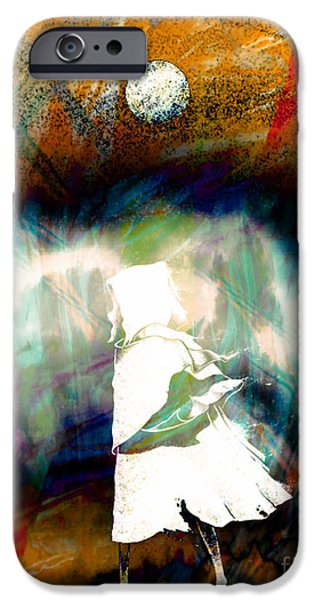 Michael Mixed Media iPhone Cases - Ghost Walker iPhone Case by M and L Creations