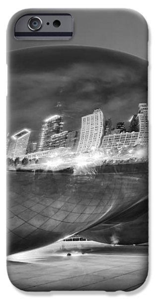 Ghosts in The Bean iPhone Case by Adam Romanowicz