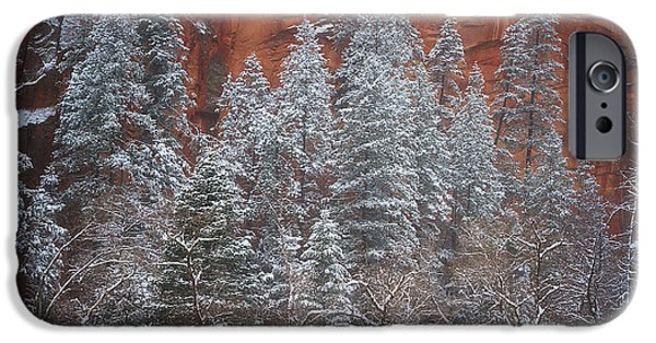 Sedona iPhone Cases - Ghosts of Winter iPhone Case by Peter Coskun