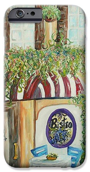 Gianni's Bistro iPhone Case by Eloise Schneider