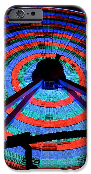 Giant Wheel iPhone Case by Mark Miller