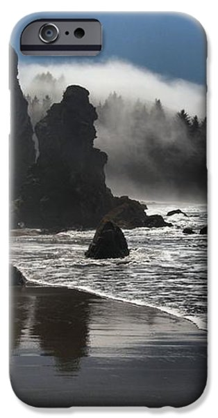 Giants On The Beach iPhone Case by Adam Jewell