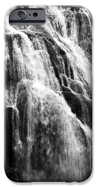 Bill Gallagher iPhone Cases - Gibbon Falls iPhone Case by Bill Gallagher