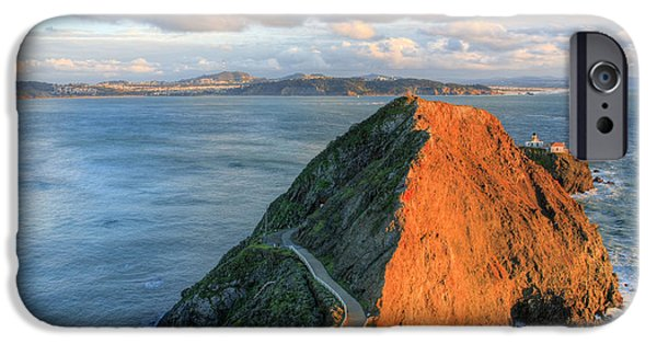 Sausalito iPhone Cases - Gibraltar iPhone Case by JC Findley
