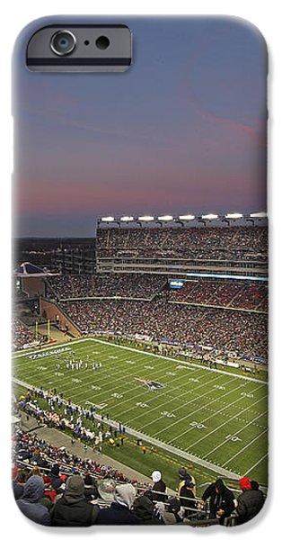 Gillette Stadium in Foxboro  iPhone Case by Juergen Roth