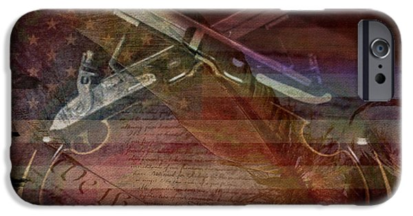Recently Sold -  - Constitution iPhone Cases - Gimme Back My Bullets iPhone Case by Absinthe Art By Michelle LeAnn Scott