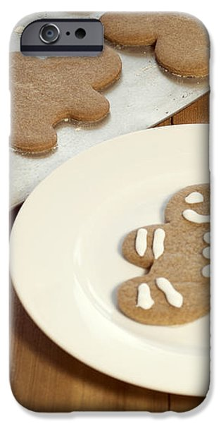 Gingerbread Cookies iPhone Case by Juli Scalzi