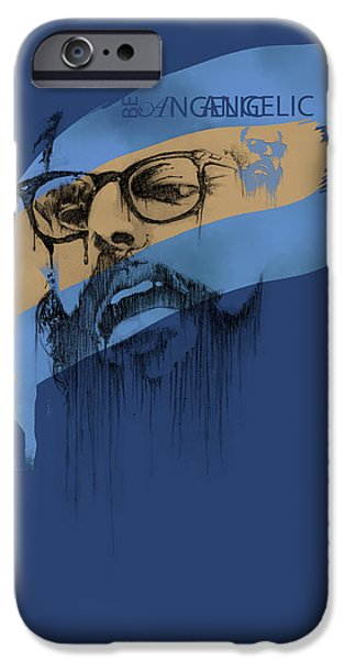 Historical iPhone Cases - Ginsberg iPhone Case by Pop Culture Prophet