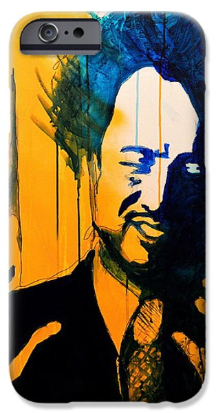 History Channel iPhone Cases - Giorgio Tsoukalos iPhone Case by Ryan Harvey