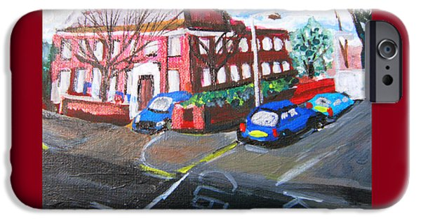Law Enforcement Mixed Media iPhone Cases - Gipsy Hill Police Station - Crystal Palace iPhone Case by Mudiama Kammoh