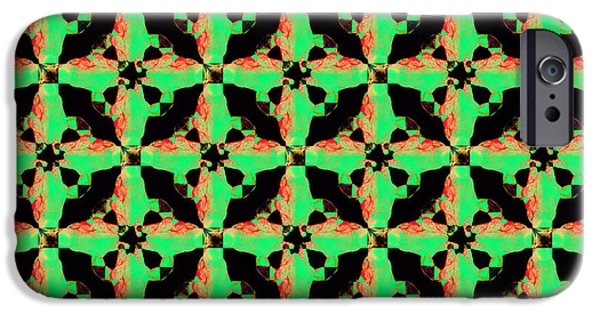 Giraffe Abstract iPhone Cases - Giraffe Abstract 20130205p0 iPhone Case by Wingsdomain Art and Photography