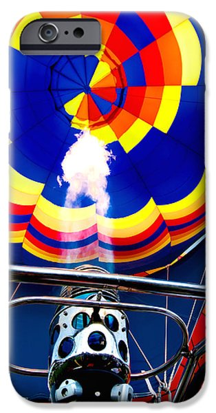 Fireworks iPhone Cases - Give It More Gas iPhone Case by Greg Fortier