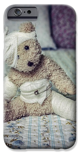 Stuffed Animal iPhone Cases - Give Me Some Comfort iPhone Case by Joana Kruse