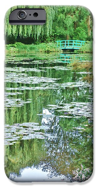 Painter Photographs iPhone Cases - Giverny iPhone Case by Olivier Le Queinec