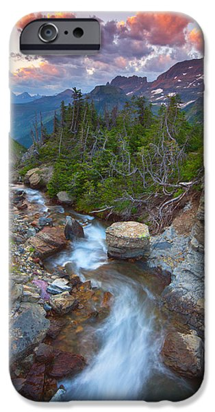 Glaciers Wild iPhone Case by Darren  White