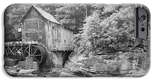 Grist Mill iPhone Cases - Glade Creek Grist Mill iPhone Case by Rose Cavaco