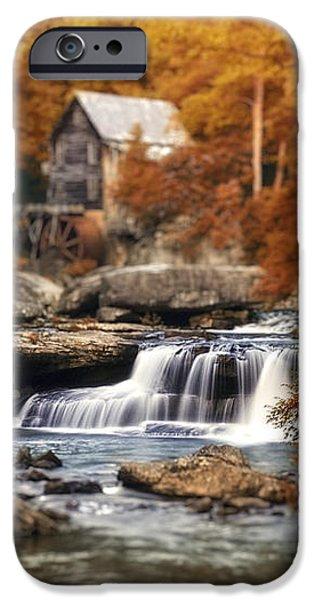 Glade Creek Mill Selective Focus iPhone Case by Tom Mc Nemar