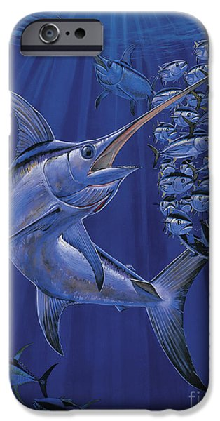 Swordfish iPhone Cases - Gladiator Off0080 iPhone Case by Carey Chen