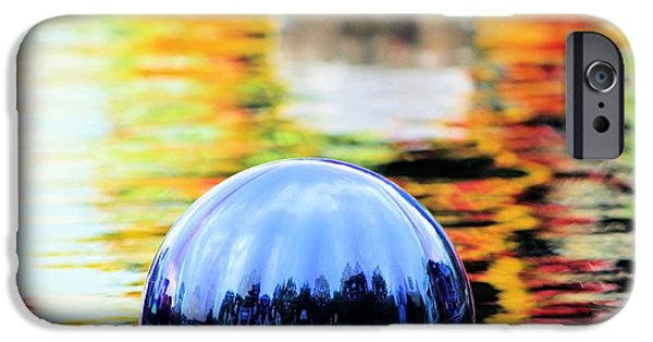 Glass Glass Art iPhone Cases - Glass Floats iPhone Case by Elizabeth Budd