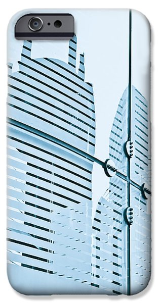 Glass Reflecting iPhone Cases - Glass panels iPhone Case by Tom Gowanlock