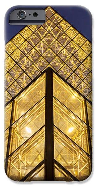 Glass Pyramid iPhone Case by Brian Jannsen