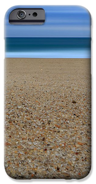 Glass Sand iPhone Case by Katherine Gendreau
