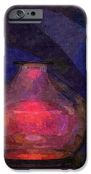 Glass Still Life - 22032013 iPhone Case by Michael C Geraghty