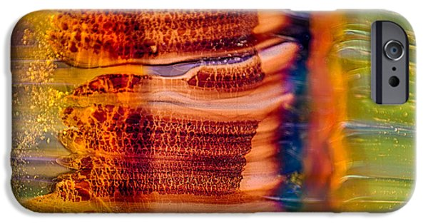 Nature Abstracts Glass iPhone Cases - Glass Trees iPhone Case by Omaste Witkowski