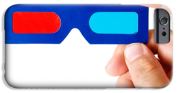 Multimedia iPhone Cases - Glasses 3D iPhone Case by Sinisa Botas