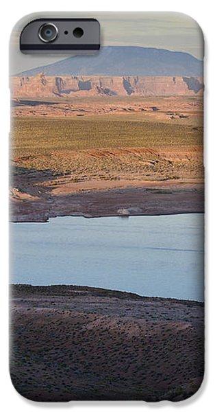 Glen Canyon and Navajo Mountain iPhone Case by David Gordon