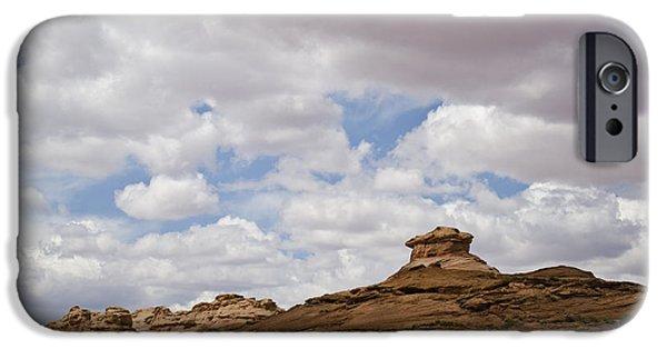 Glen Canyon iPhone Cases - Glen Canyon Page AZ No. 2 iPhone Case by David Gordon
