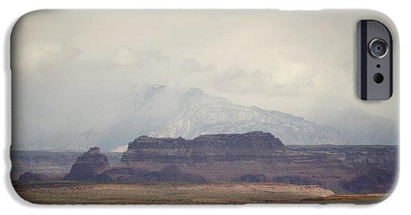 Glen Canyon iPhone Cases - Glen Canyon Page AZ No. 6 iPhone Case by David Gordon
