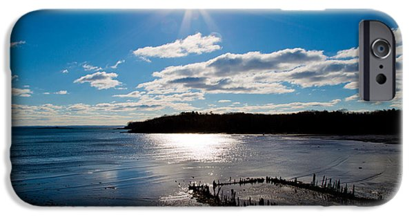 Midcoast iPhone Cases - Glen Cove Maine iPhone Case by Melanie Leo