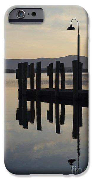 Glendale Docks No. 1 iPhone Case by David Gordon