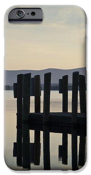Glendale Docks No. 2 iPhone Case by David Gordon