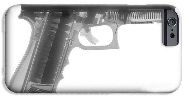 Bullets iPhone Cases - Glock G17 iPhone Case by Ray Gunz