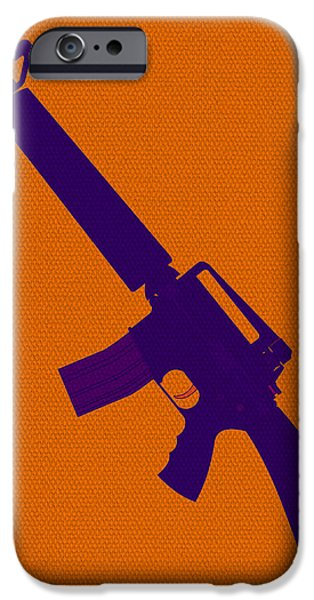 Michelle Mixed Media iPhone Cases - Glorified Violence iPhone Case by Michelle Dallocchio