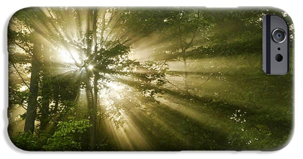 Eternal Inspirational iPhone Cases - Glorious Morning Sunrise iPhone Case by Christina Rollo