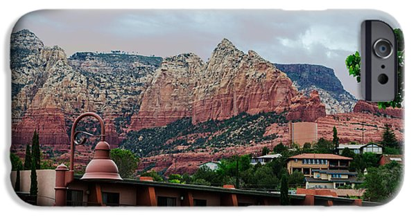 Sedona iPhone Cases - Glorious Red Rock Country iPhone Case by Beverly Guilliams