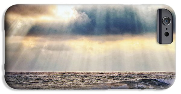 Babylon iPhone Cases - Glorious Sky iPhone Case by Vicki Jauron
