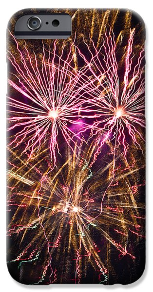 Fourth Of July iPhone Cases - Glory iPhone Case by Annette Hugen