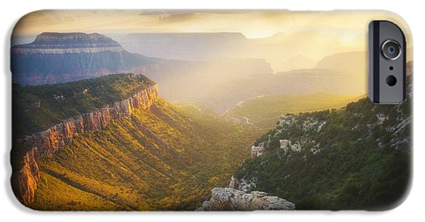 Peter Coskun iPhone Cases - Glow of the Gods iPhone Case by Peter Coskun