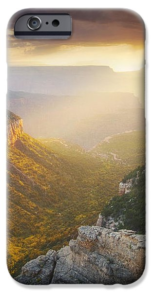 Glow of the Gods iPhone Case by Peter Coskun