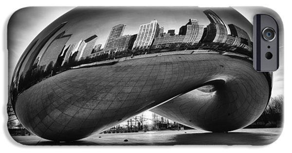 Recently Sold -  - Chicago iPhone Cases - Glowing Bean iPhone Case by Sebastian Musial