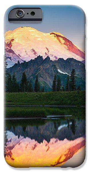 Glowing Peak iPhone Case by Inge Johnsson