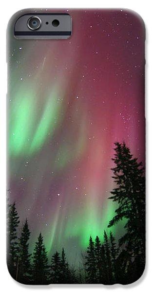 glowing skies iPhone Case by Priska Wettstein