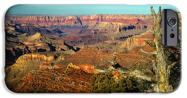 Grand Canyon iPhone Cases - Glowing South Rim iPhone Case by Robert Bales