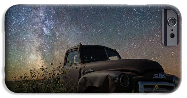 Old Trucks Photographs iPhone Cases - Gmc iPhone Case by Aaron J Groen