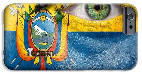 Chimborazo iPhone Cases - Go Ecuador iPhone Case by Semmick Photo